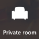 Private roomボタン